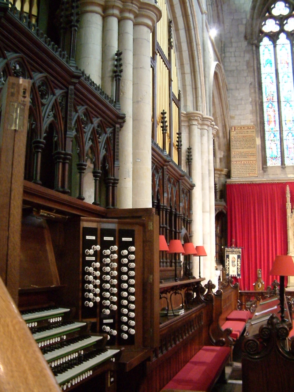 Bridlington Priory Organ