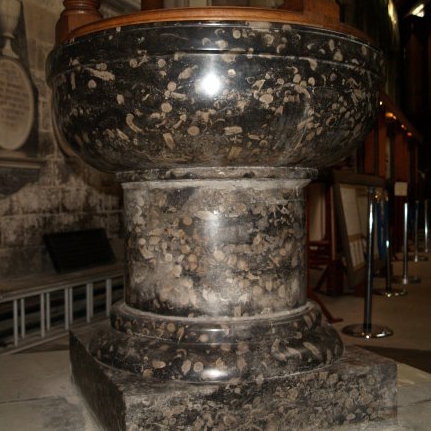 Frosterley Marble Font