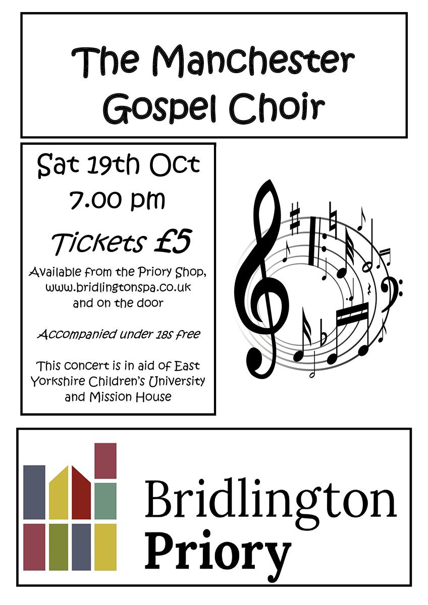 Poster - Gospel Evening