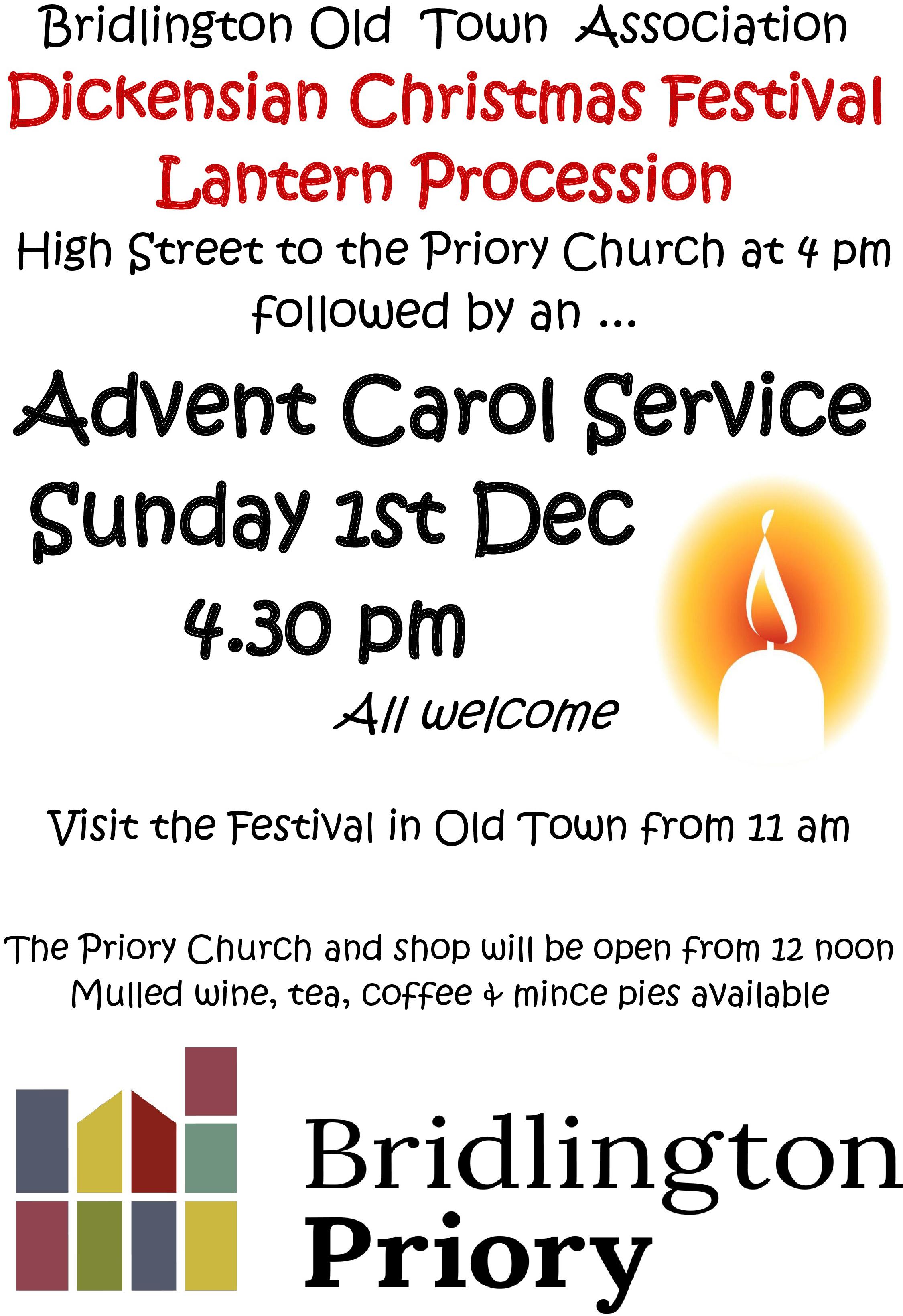 Poster - Advent Carol Service 2019