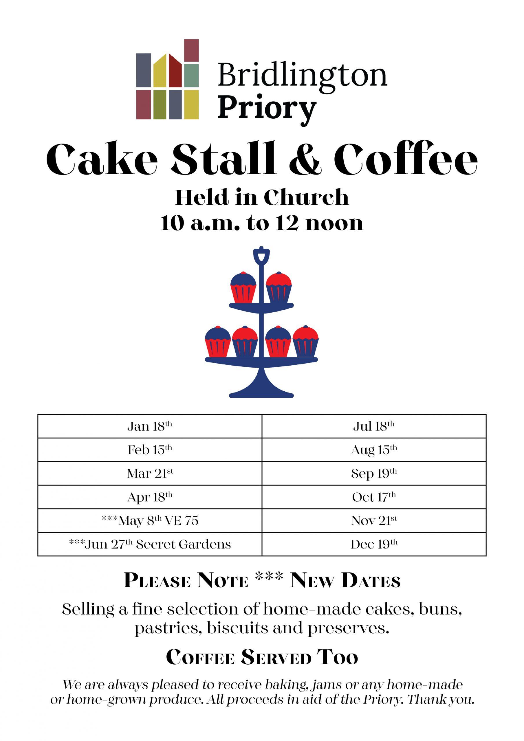 Poster - Cake Stall