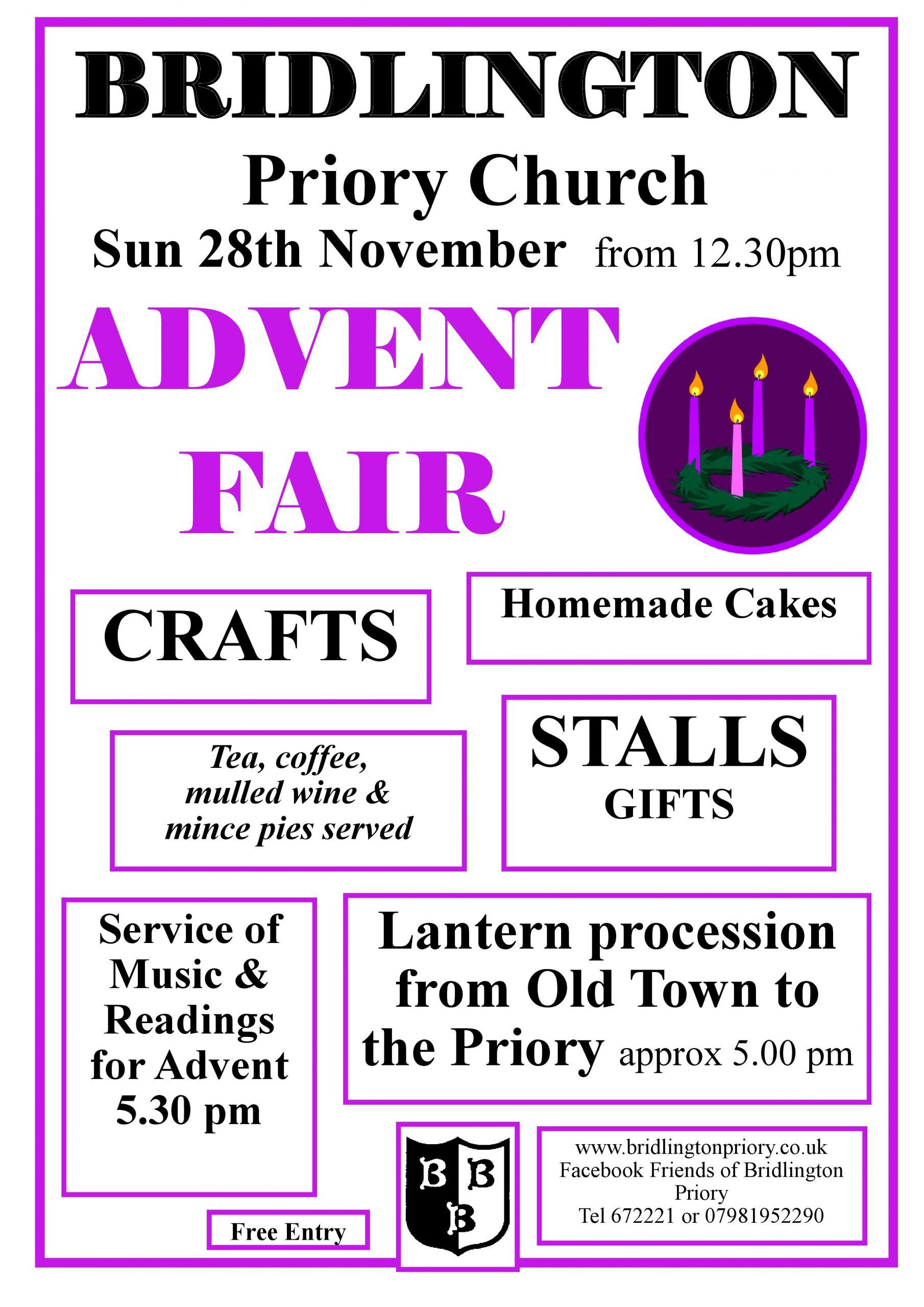 Bridlington Priory - Advent Fair 2021